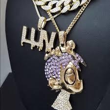 necklace chains hip hop images Accessories uzi vert luv pendant chains hip hop necklace set jpg