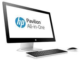 hp pavilion bureau ordinateur tout en un hp pavilion 27 n202nf pas cher prix