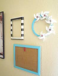 rich design of easy wall art idea with extravagant frames made of