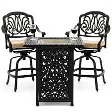 Patio Furniture Bar Height Set - counter height patio furniture images bar height patio dining