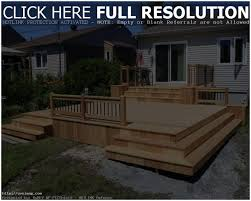 backyards cool austin multi level deck with pergola 128 modern