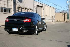 2010 ford taurus aftermarket tail lights review test drive 2010 mobsteel ford taurus sho first drive