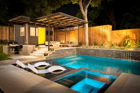 swimming pool modern pool cabana designs plans guest floor home