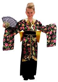 geisha fancy dress costume for girls by bristol novelties cc659