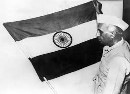 The Flag Of India Indian Independence Anniversary Celebrations In 1947 Time