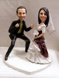 custom wedding cake toppers figurines wolverine my face custom