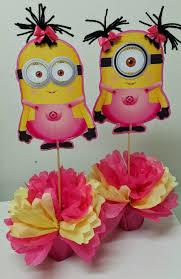 minions centerpieces minion baby shower centerpieces home party theme ideas