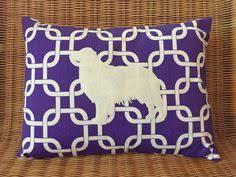 australian shepherd e cavalli appliquéd horse pillow heather gray wool felt arabian horse with