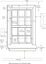 window measurements captivating measuring for roman shades and roman shades quote