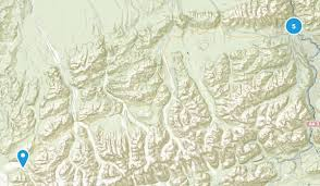 denali national park map best trails near denali national park alaska alltrails com
