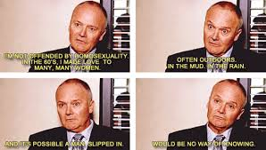 started the office i think creed is awesome album on