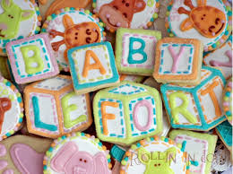 baby shower cookies alphabet blocks 30 cookies by rollinindough