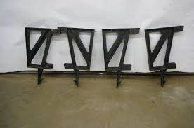 Metal Deck Bench Brackets - pellet stove u0026 more 282 in alexandria minnesota by kan do auctions