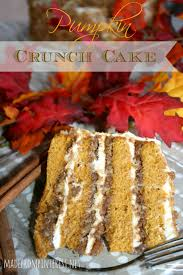 cracker barrel menu thanksgiving pumpkin crunch cake with cream cheese frosting tgif this