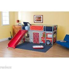 Loft Beds For Kids With Slide Loft Bed With Slide Ebay