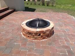 brick paver fire pit design and ideas