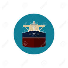 Us Flagged Merchant Ships Icon Tanker Or Tank Ship A Merchant Vessel Designed To Transport
