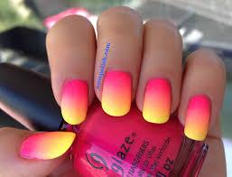 55 most stylish yellow and pink nail art design ideas yellow