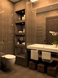 chocolate brown bathroom ideas bathroom winsome awesome bathtub and walk shower floortile