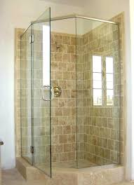bathroom shower stall tile designs stylish shower stalls for small space the ideal corner shower