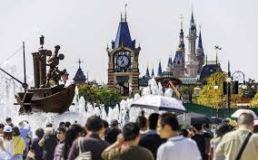 thanksgiving week at disney world thousands flock to shanghai disney six weeks before opening day