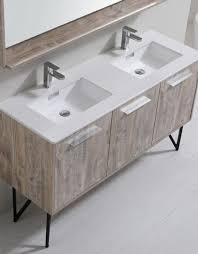 Bosco  Modern Bathroom Vanity W Quartz Countertop And Matching - Bathroom vanities with quartz countertops