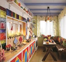 Mediterranean Style Kitchens - sunny mediterranean style kitchen on a country house veranda