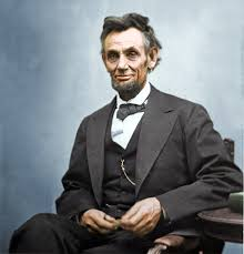 you wondered how lincoln looked like in color the