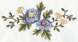 floral spray machine embroidery designs at embroidery library embroidery library