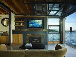 lake home interiors floating home interiors for west coast living