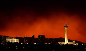 Wildfire In Arizona 2013 by Smoke From Massive Wildfire Billows Over Las Vegas Nbc News