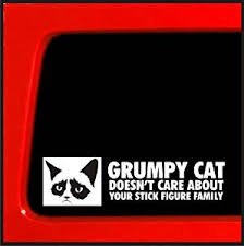 138 Best Funny Stick Figures Images On Pinterest Funny - com grumpy cat sticker doesn t care about your stick