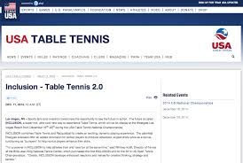 Rules For Table Tennis by News
