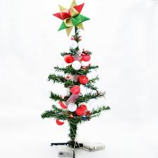 small 18 multi color changing led lighted desktop tree