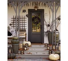Halloween Patio Decorating Ideas Front Porch Halloween Decoration Ideas Divascuisine Com