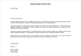 personal reference letter templates 40 awesome personal character