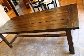 rustic dining room table plans furniture perfect for your home and great addition to any dining