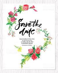 wedding invitation with flowers stock vector art 518818847 istock