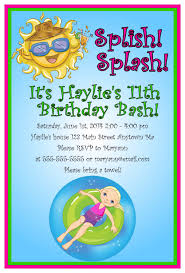 and pool invitation card design ideas to inspire you