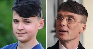 peaky blinders haircut schoolboy 12 put into isolation because of his peaky blinders