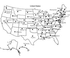 map of the united states quiz with capitals maps of the united states with capitals