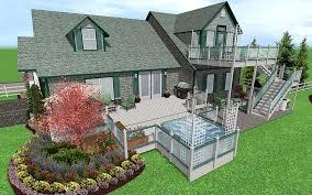3d design your home landscape software features