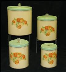 antique canisters kitchen 1271 best canister sets images on vintage kitchen