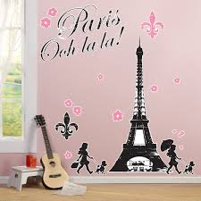 paris damask giant wall decals birthdayexpress com