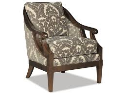 Traditional Accent Chair Craftmaster Accent Chairs 040010 Traditional Wood Framed Accent