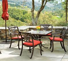 red patio dining sets outdoor attractive lowes patio umbrella for patio furniture idea