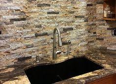 Granite Tile Backsplash by Print Of Solutions To Overcome High Price Of Granite Countertops