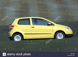 car volkswagen side view car vw volkswagen fox model year 2005 yellow miniapprox s