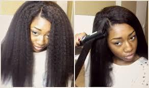 Mongolian Curly Hair Extensions by Realistic Looking Hair Dream Tresses Mongolian Straight