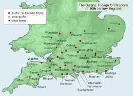 Oxford England Map burh wikipedia